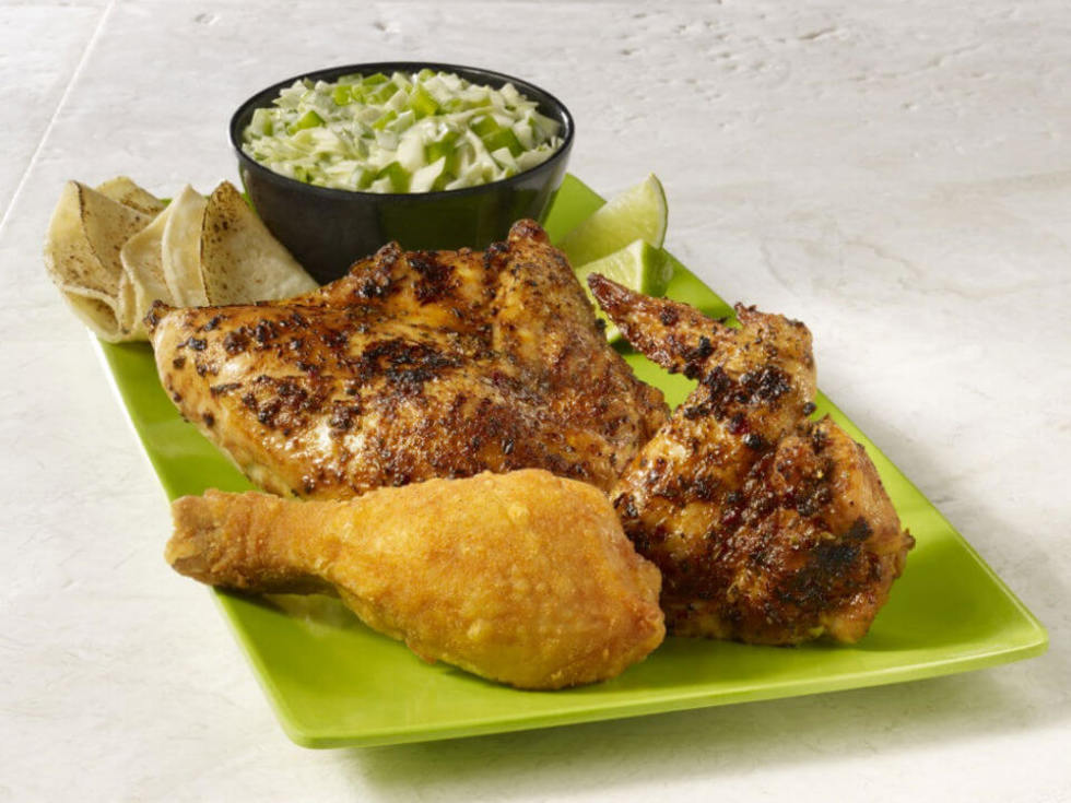 Pollo Campero chicken