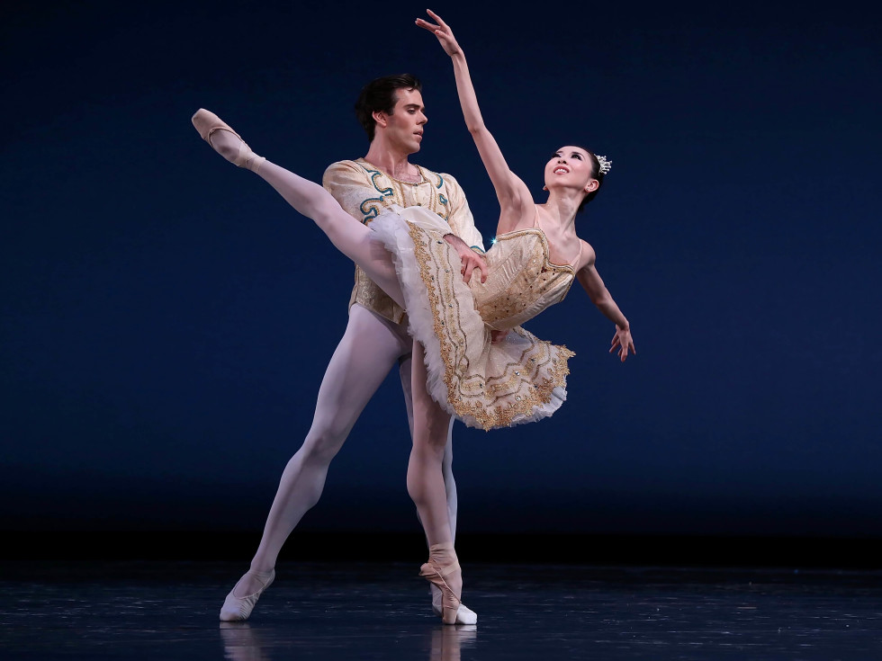 Houston Ballet, Theme and Variations, Connor Walsh, Yuriko Kajiya