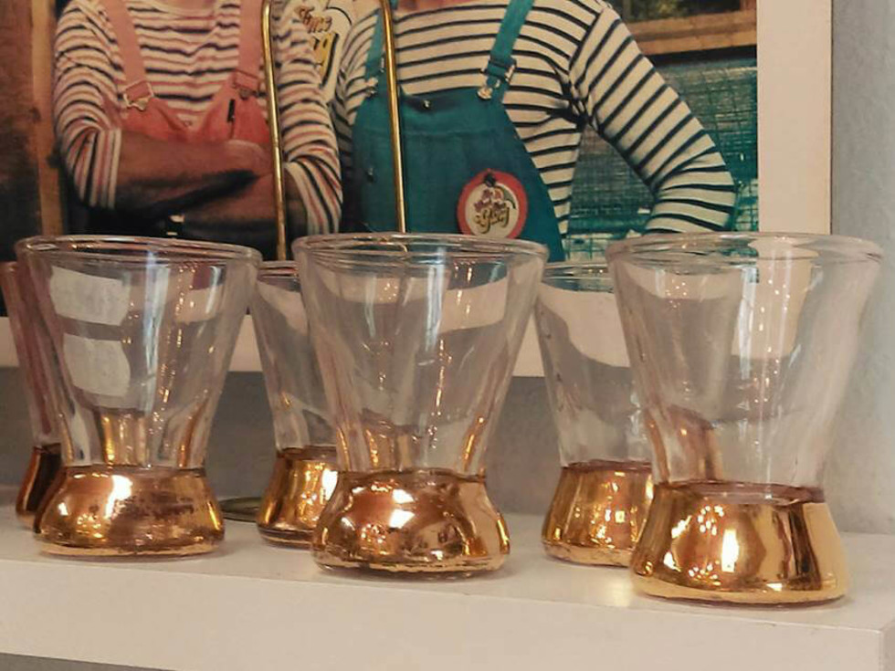 Glasses at Piranha Vintage store in East Dallas