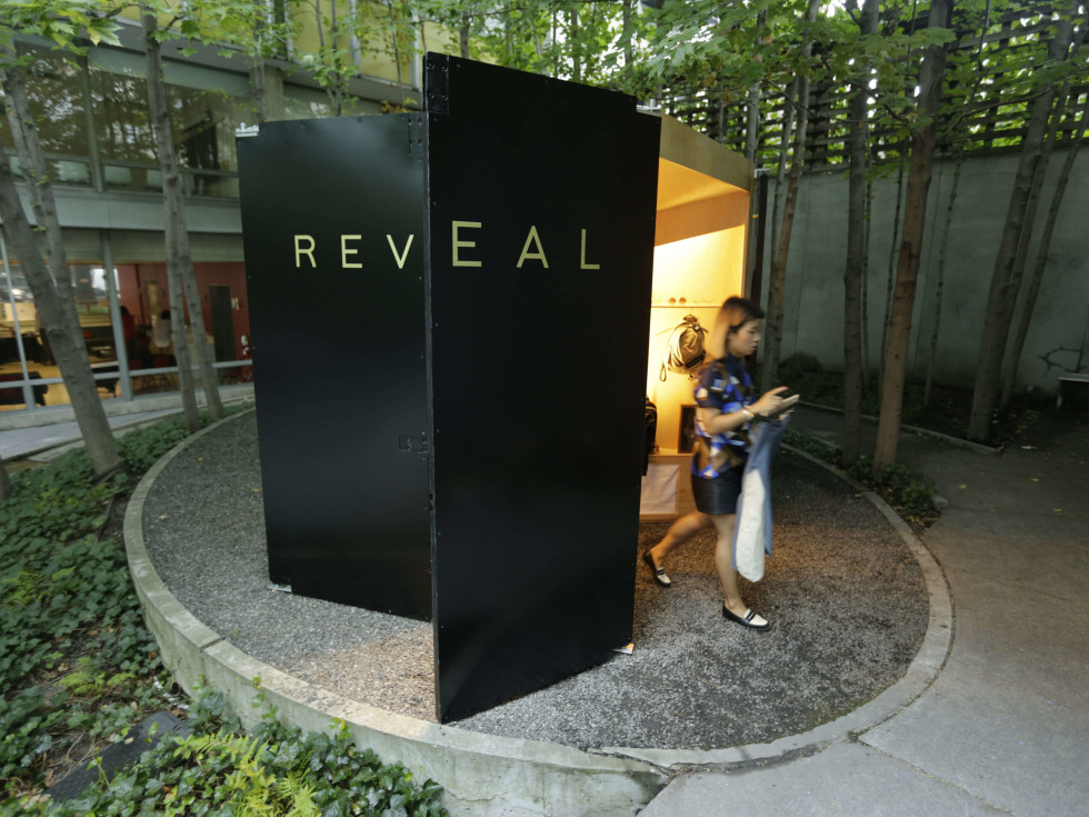 By Reveal pop-up shop