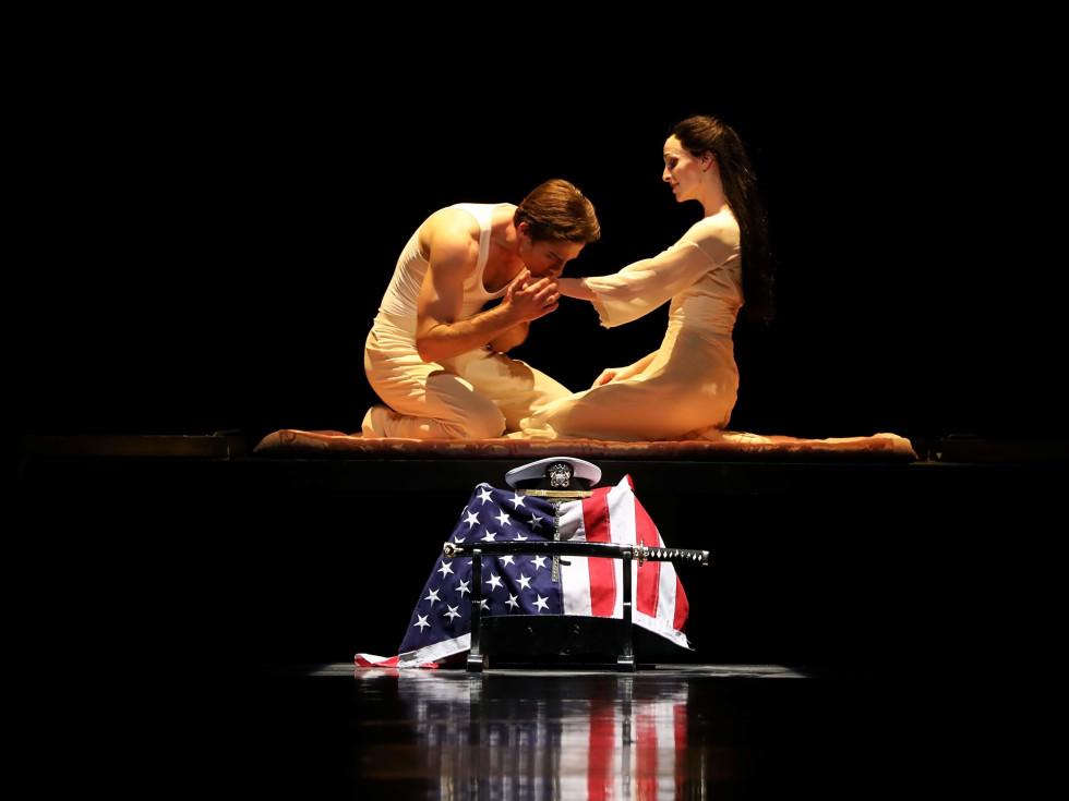 Houston Ballet, Madame Butterfly, Sept. 2016,  Sara Webb and Ian Casady