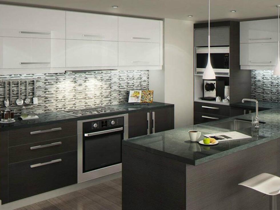 Tuxedo Kitchen Cabinets