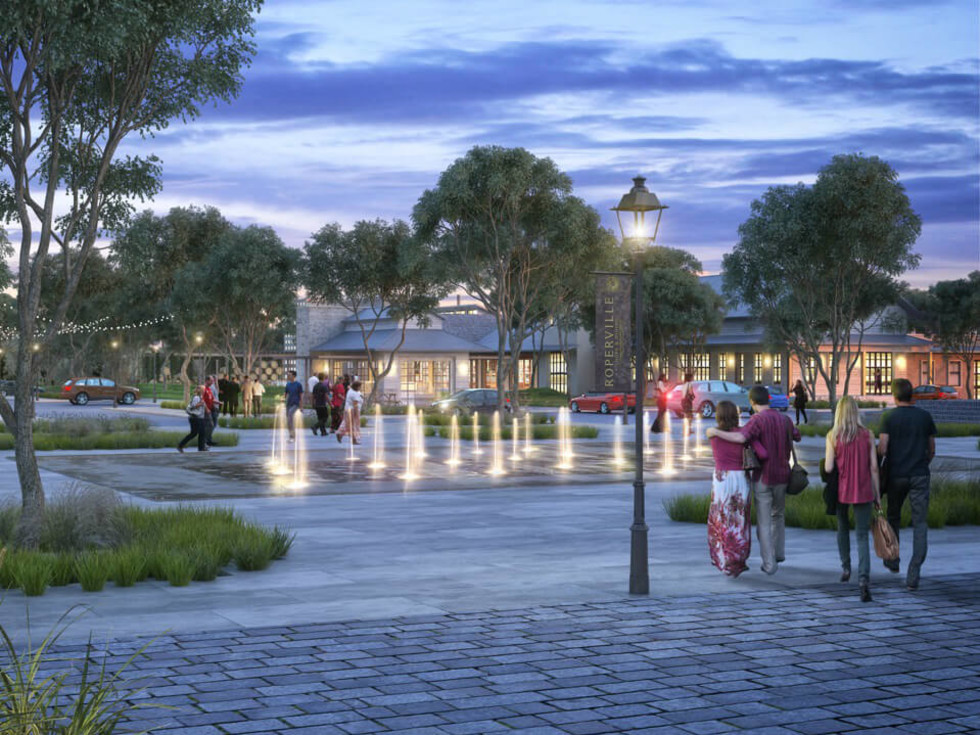Roperville Hill Country Rendering
