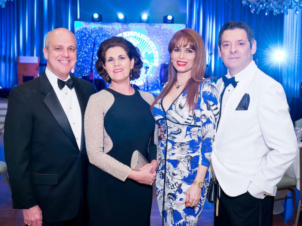Houston, Gala Noche de las Americas, Oct. 2016, George Diaz-Arrastia, Maria Gomez Diaz, Karina Barbieri, Carlos Barbieri