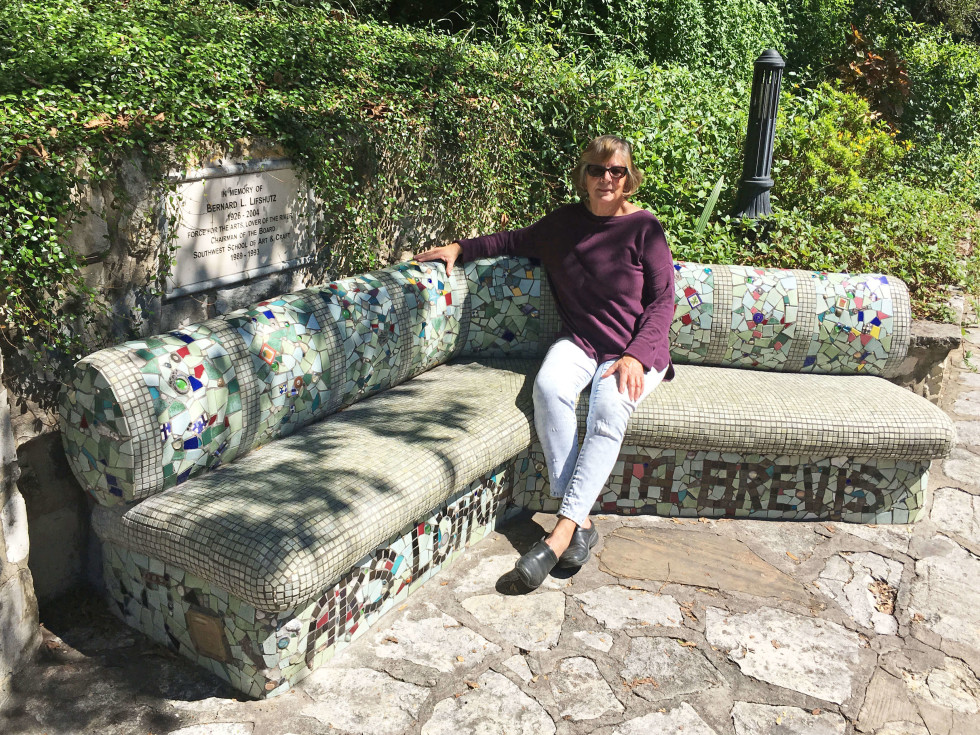 Bernard's Bench by Twyla Arthur
