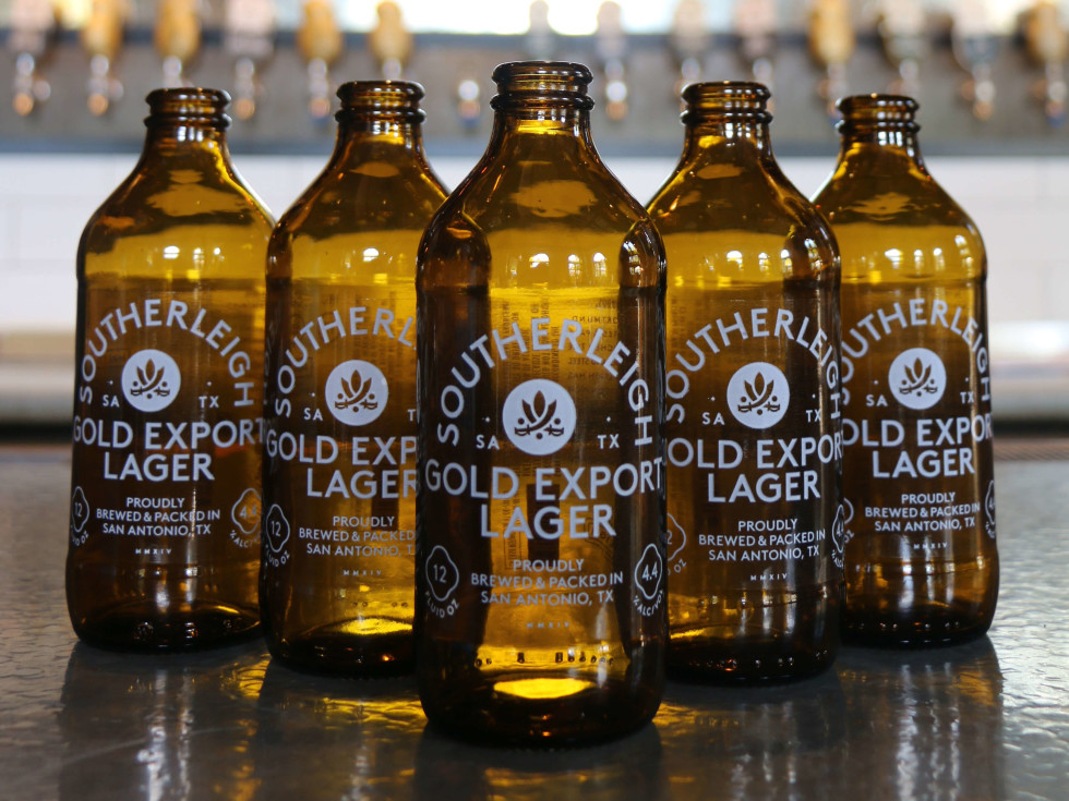 Southerleigh Gold Export Lager bottled beer