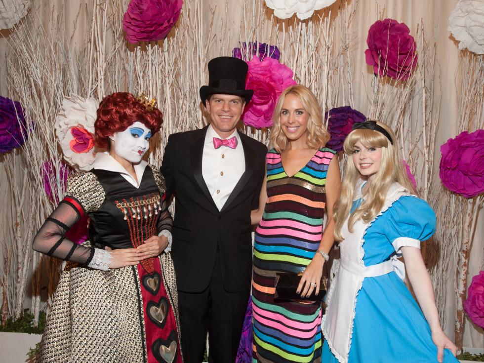 Houston, Childrens Museum of Houston Mad Hatters Ball, Oct. 2016, John Harrell, Caroline Harrell
