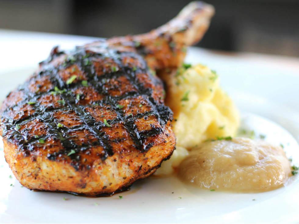 Ivy Kitchen pork chop