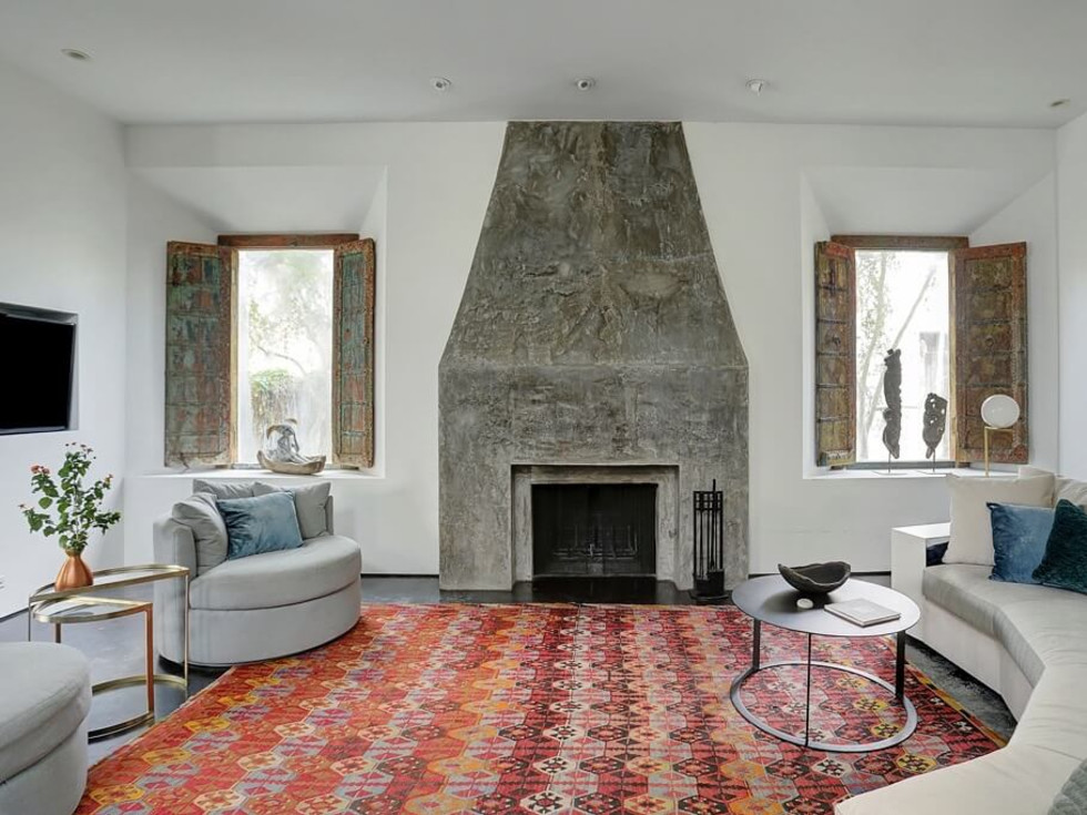 Heights home decorated by Gin Braverman