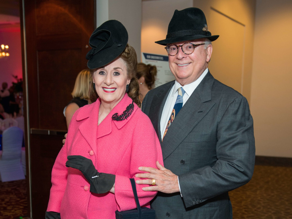 Martha Turner, Glenn Bauguss at Mission of Yahweh gala