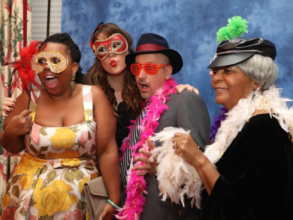 Ashley Turner and guests at BARC gala
