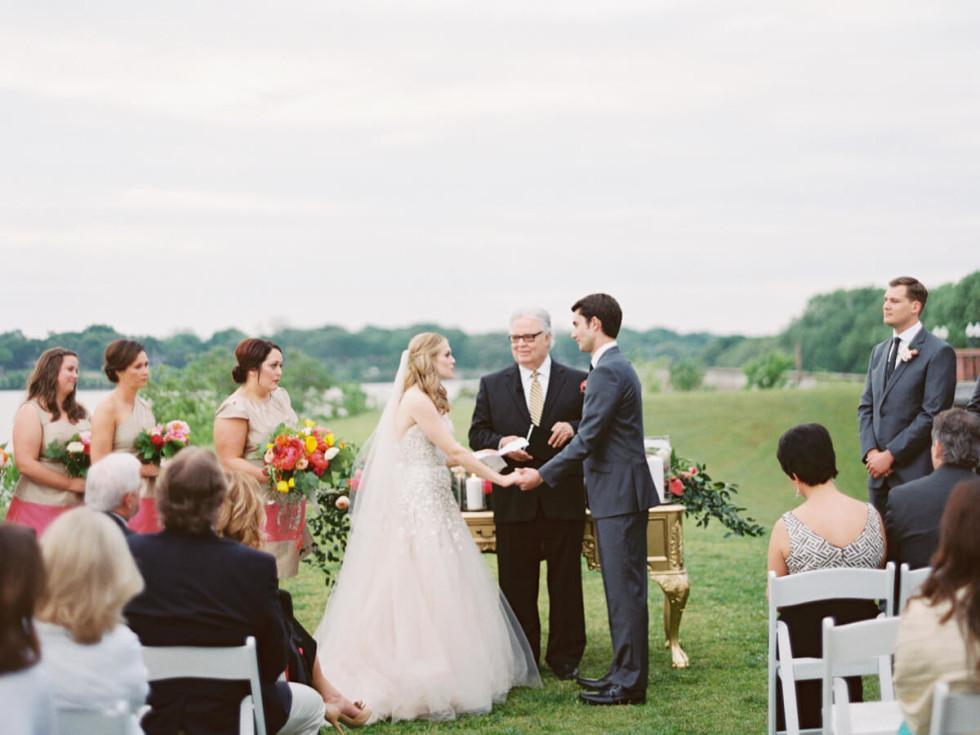 Real Weddings Allie + Blake