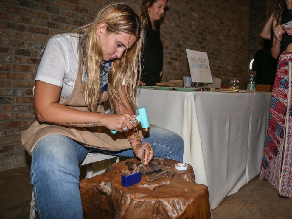 CultureMap Social Top Texans Under 30 Nina Berenato Psyche Jewelry Charm Keychains