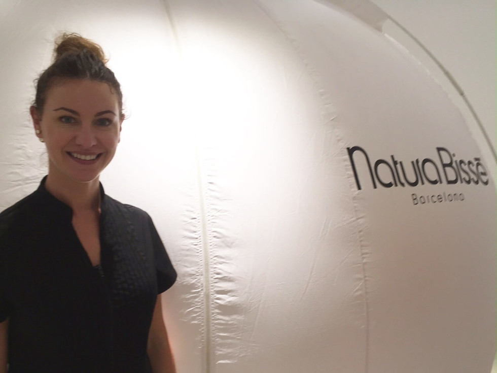 Erica Provines, Natura Bisse oxygen facial