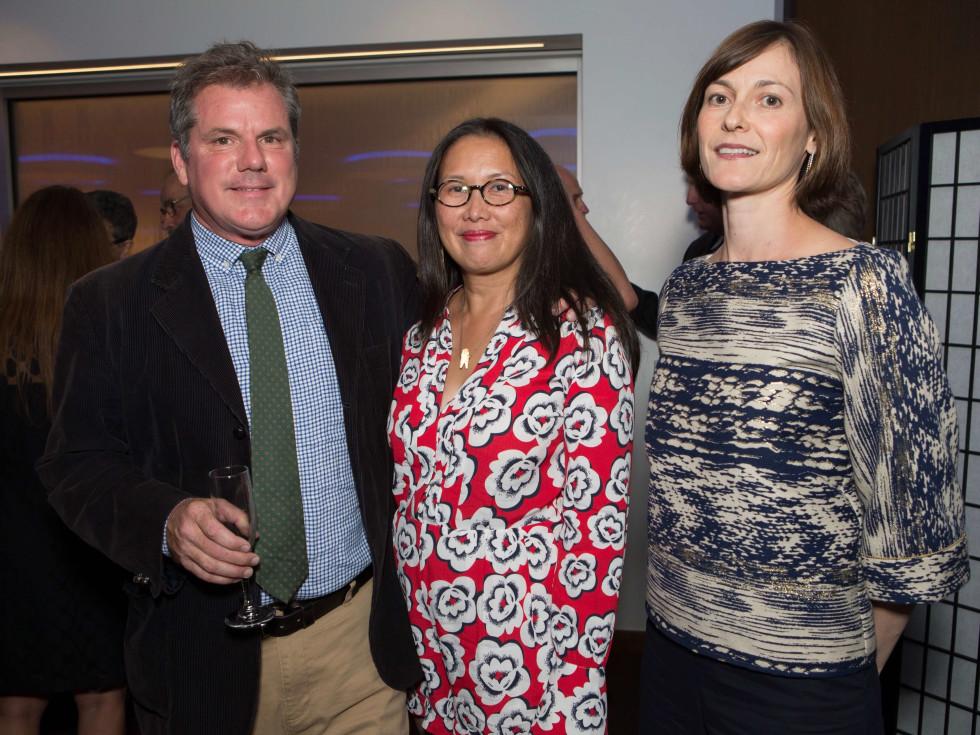 HCAF Kick-Off Party: Patrick Kwiatkowski, Christine Starkman, Vicky Wigh