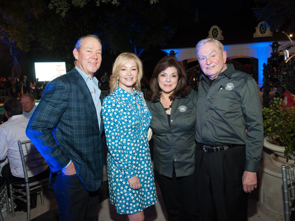 Houston, HPD True Blue Gala, Oct. 2016, Jim Crane, Whitney Wheeler, Laura Ward, Dave Ward