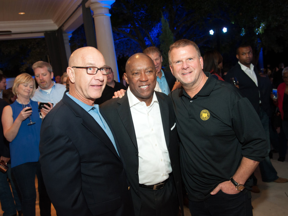Houston, HPD True Blue Gala, Oct. 2016, Senator John Whitmire, Mayor Sylvester Turner, Tilman Fertitta