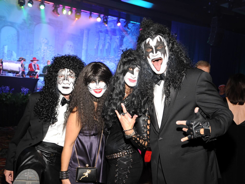 Houston, Ronald McDonald House Boo Ball, Oct. 2016, KISS