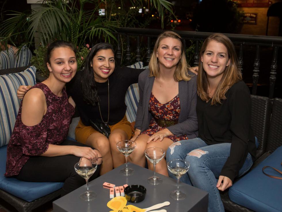 BumbleBFF party at Sophia's October 2016 Elizabeth Pargaman Livi Lupercio Cara Bodner Marianne Deangelo