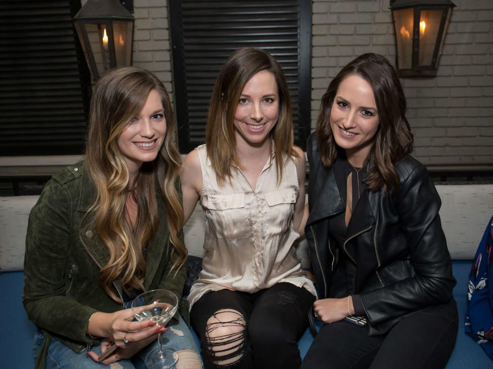BumbleBFF party at Sophia's October 2016 Erin Bradley Jennifer Resnick Lauren Martin