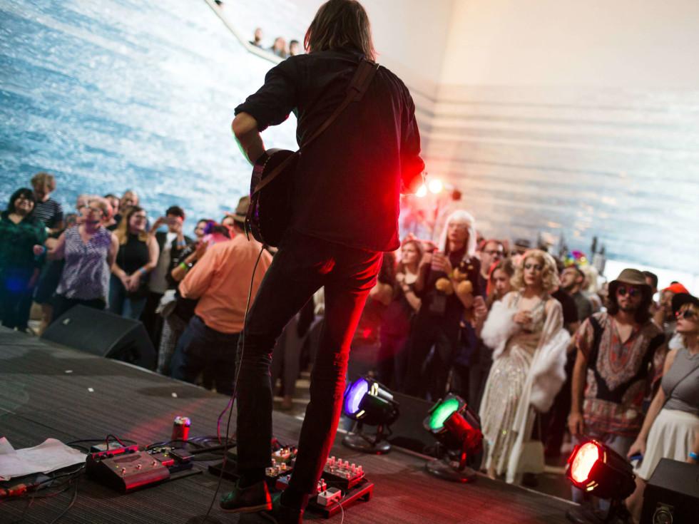 Blanton Museum of Art B Scene Inevitable Warhol Happening 2016 Christian Bland and the Revelators