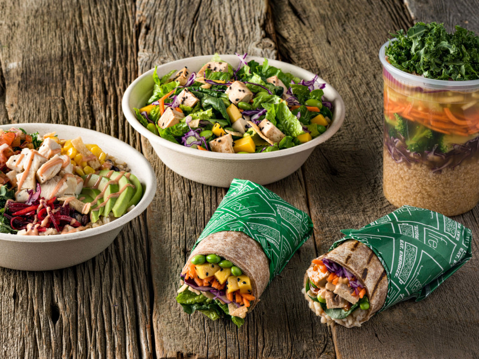 Freshii healthy fast food WE menu