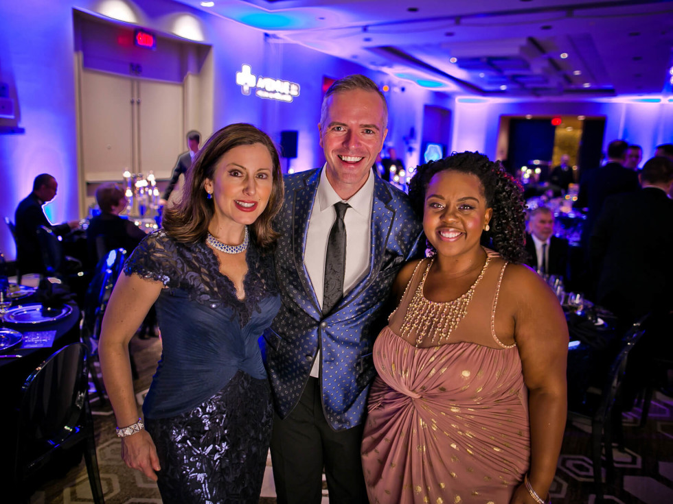 Houston, Sing for Hope gala, Nov. 2016, Camille Zamora, Paul Pettie, Ashley Turner