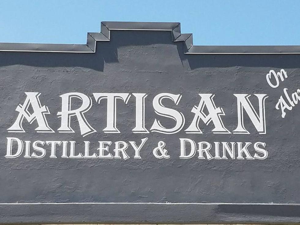 Artisan Distillery and Drinks San Antonio cocktail lounge