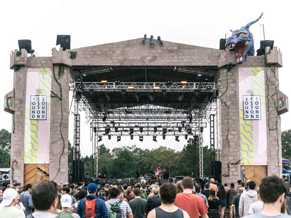 Sound on Sound Fest 2016 Dragon's Lair Stage