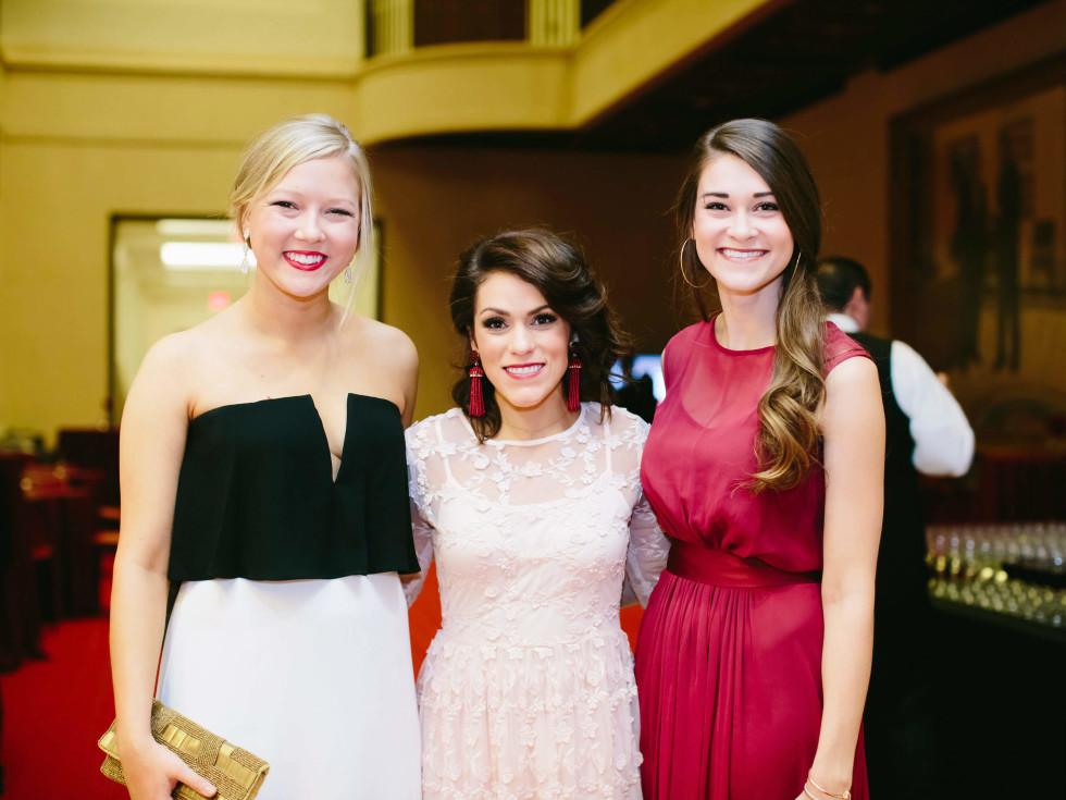 Brooke Carter, Sydney Sullivan, Marley Friesenhahn