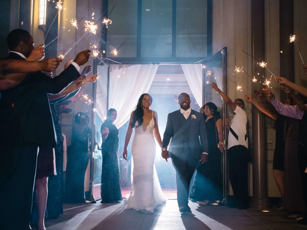 Michelle and Bode Ogunwole wedding