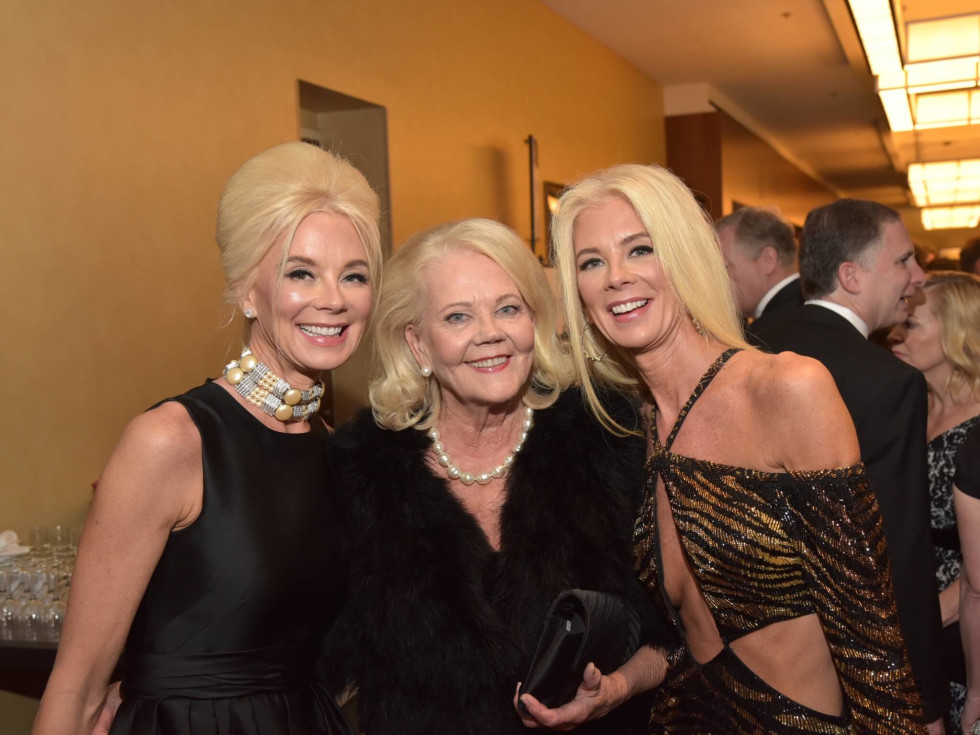 Houston Children's Charity 20th anniversary Tena Faust, Marge Lundquist, Tama Lundquist