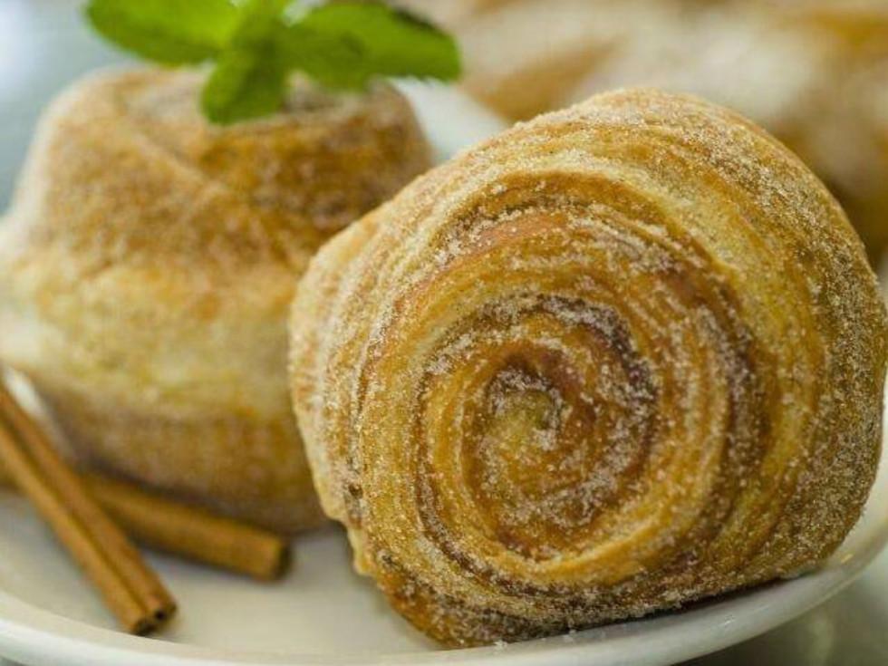 Sweetish Hill cinnamon roll