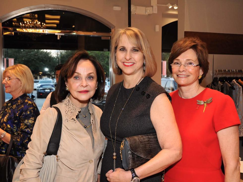 American Heart Association Circle of Red at Elizabeth Anthony, Jane DiPaolo, Susan Hansen, Bobbie Nau