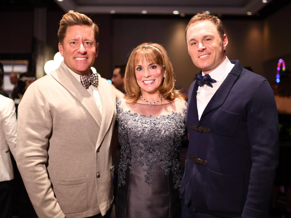 Brian Teichman, Pamela Wright and Andy Cordes at CAP Gala