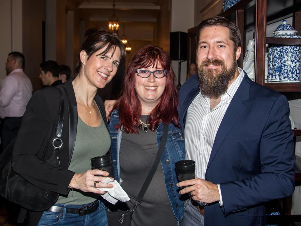 Christine Swann, Karin Oxtoby, Gordon Green