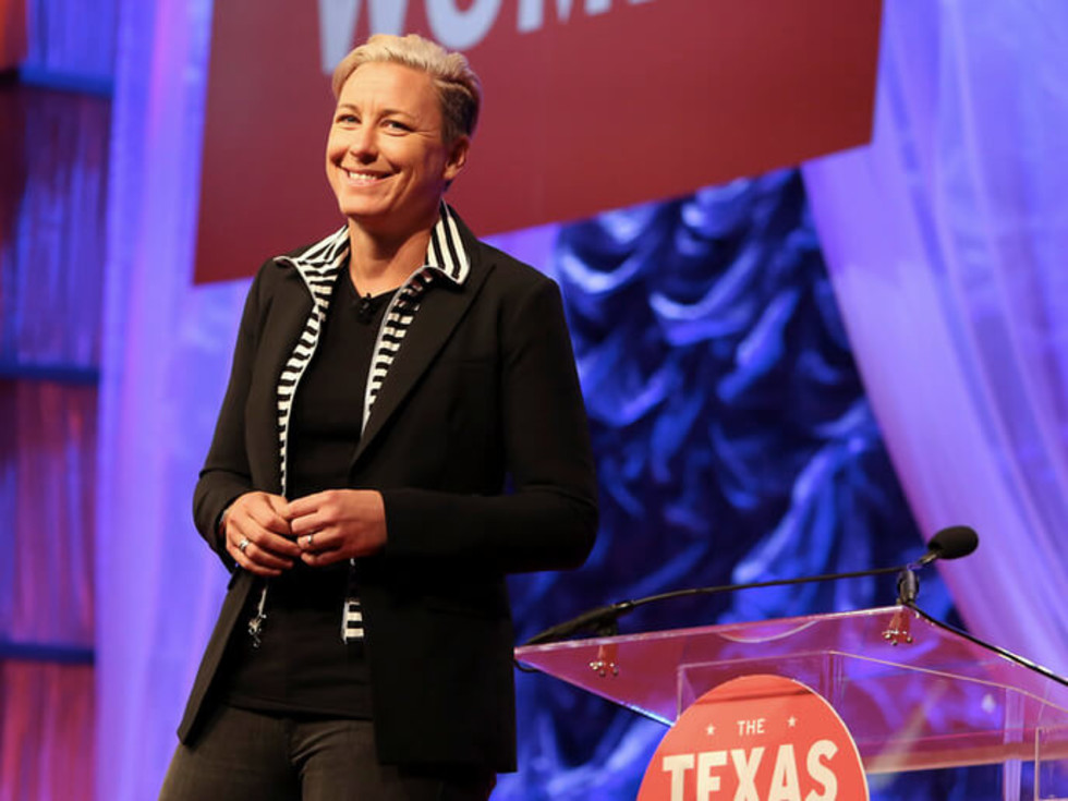 Texas Conference for Women 2016 Abby Wambach