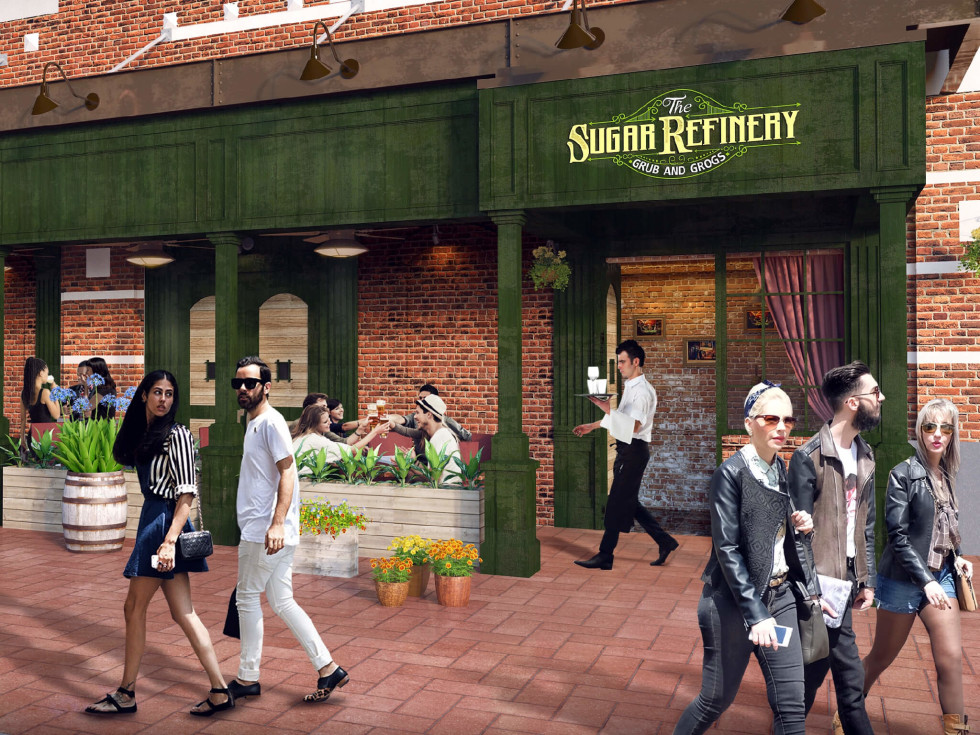 Sugar Refinery restaurant rendering