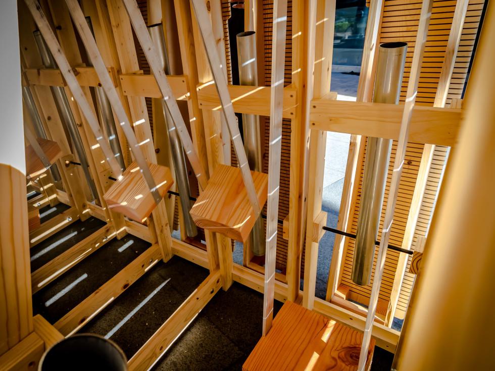 Chime Art Blocks-interior
