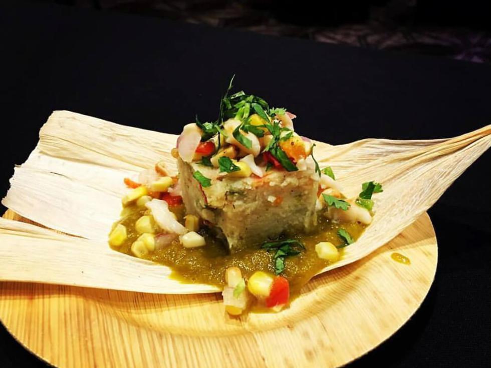 Cannon + Belle shrimp tamale