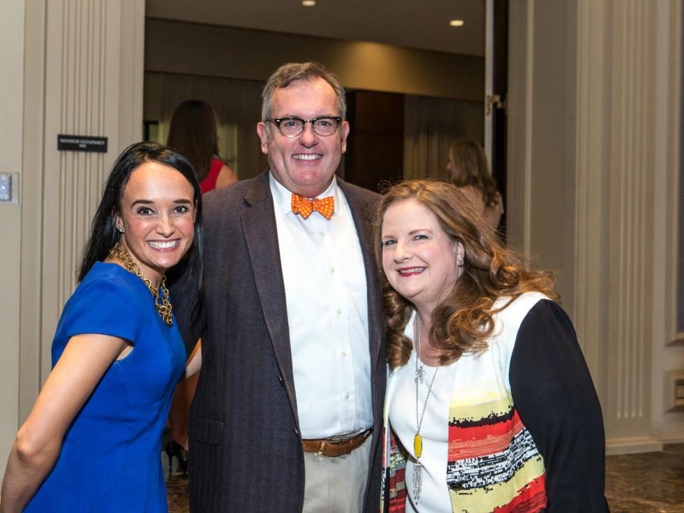 Joanna Clarke, Greg Nieberding and Paige McDaniel