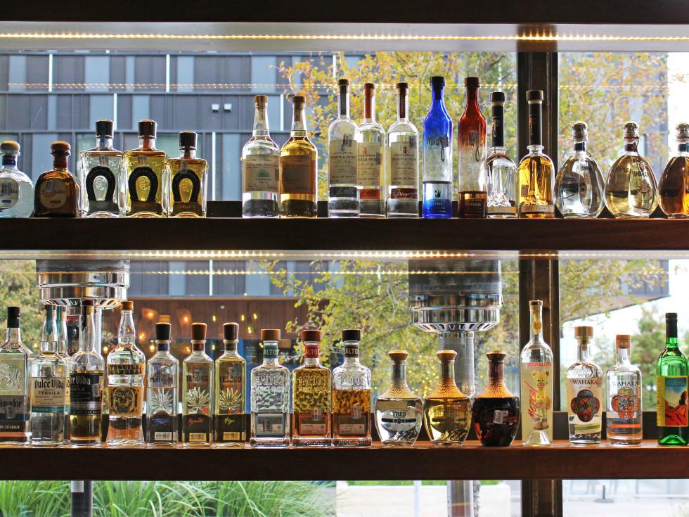 El Burro Tex Mex and Bar restaurant tequila