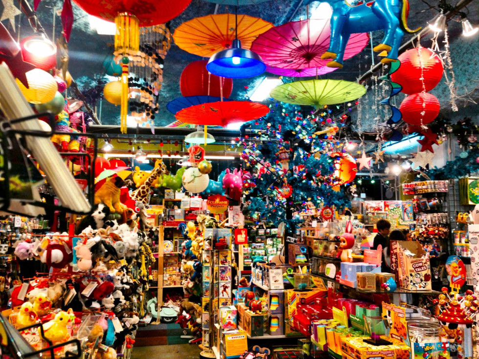 Toy Joy store interior