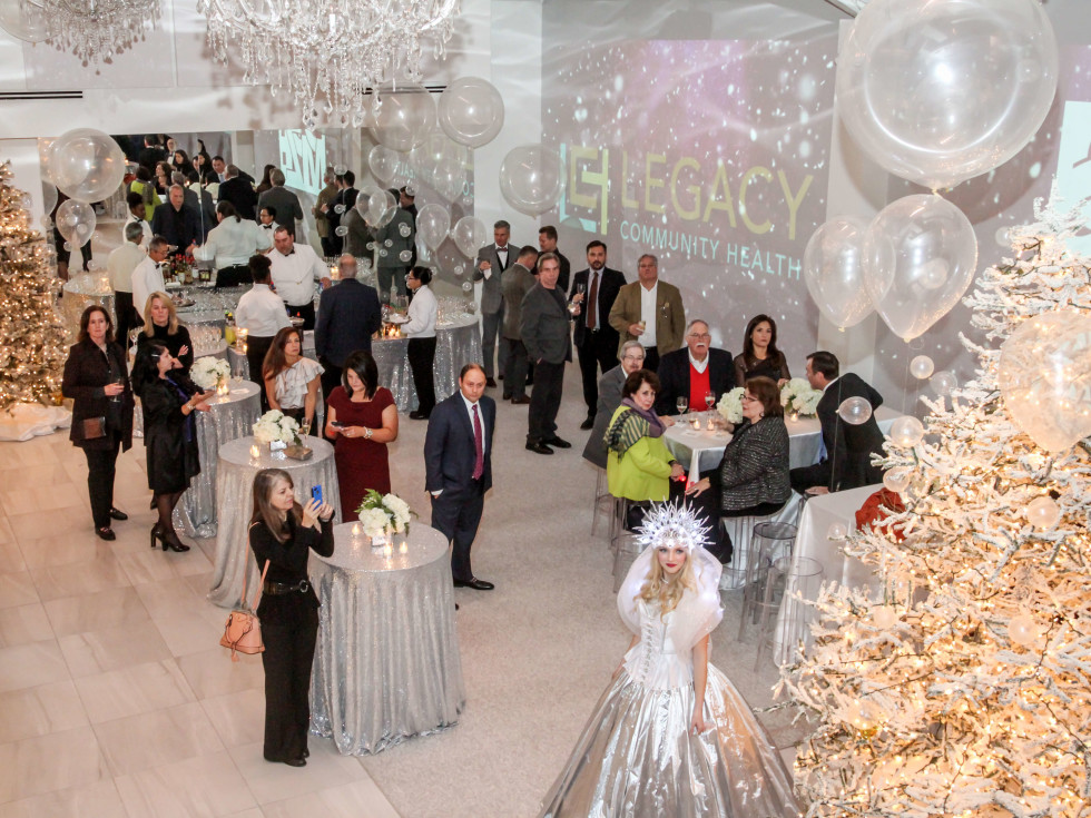 Houston, Legacy Services Holiday Schmooze, Dec 2016, room view