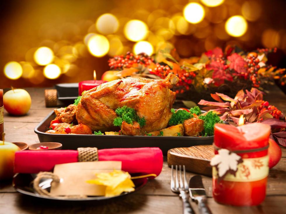 Hotel Contessa holiday turkey dinner Christmas Thanksgiving