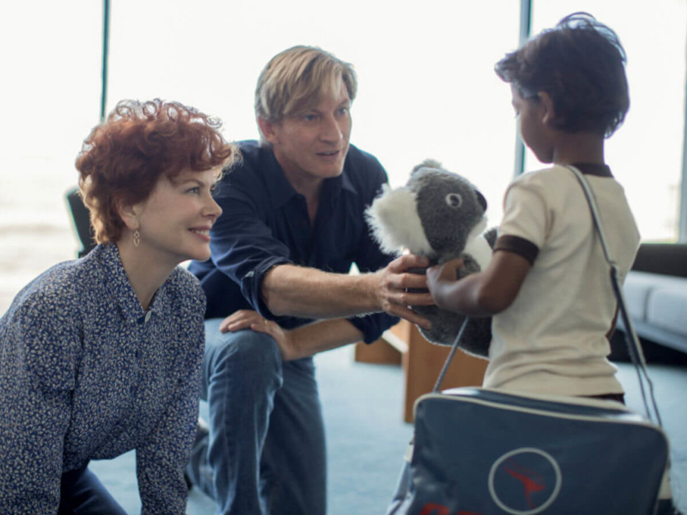 Nicole Kidman, David Wenham, and Sunny Pawar in Lion
