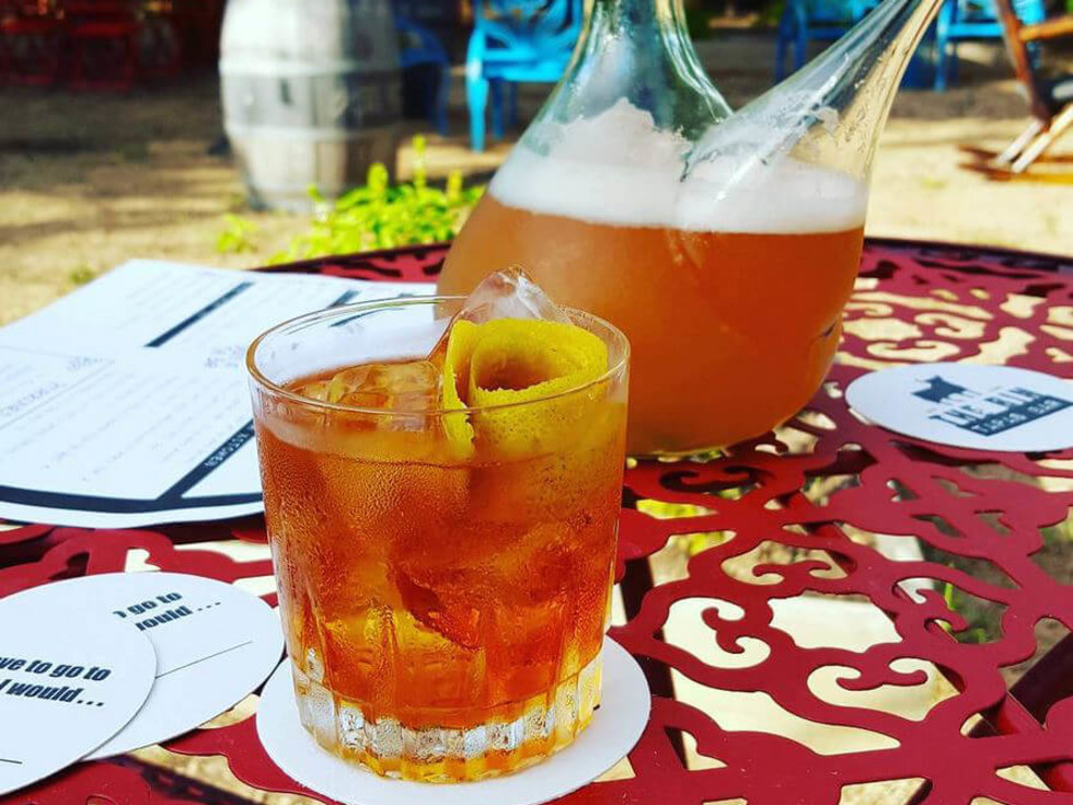 The Bin Tapas Bar restaurant negroni porron beer