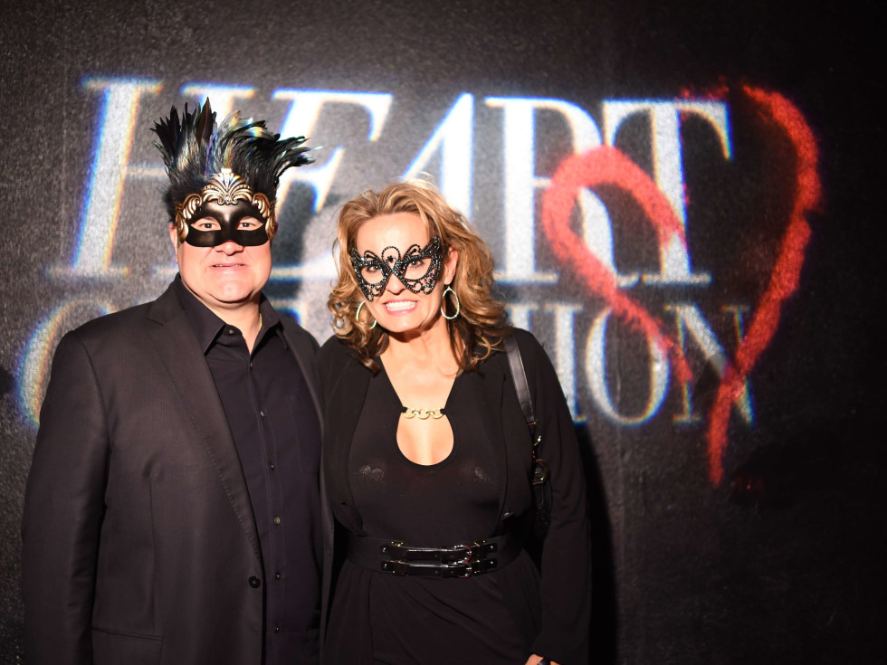 Paul Brown, Pam Brown at Heart of Fashion Masquerade Ball