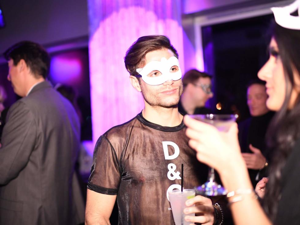 Heart of Fashion Masquerade Ball Gabriel Gooley