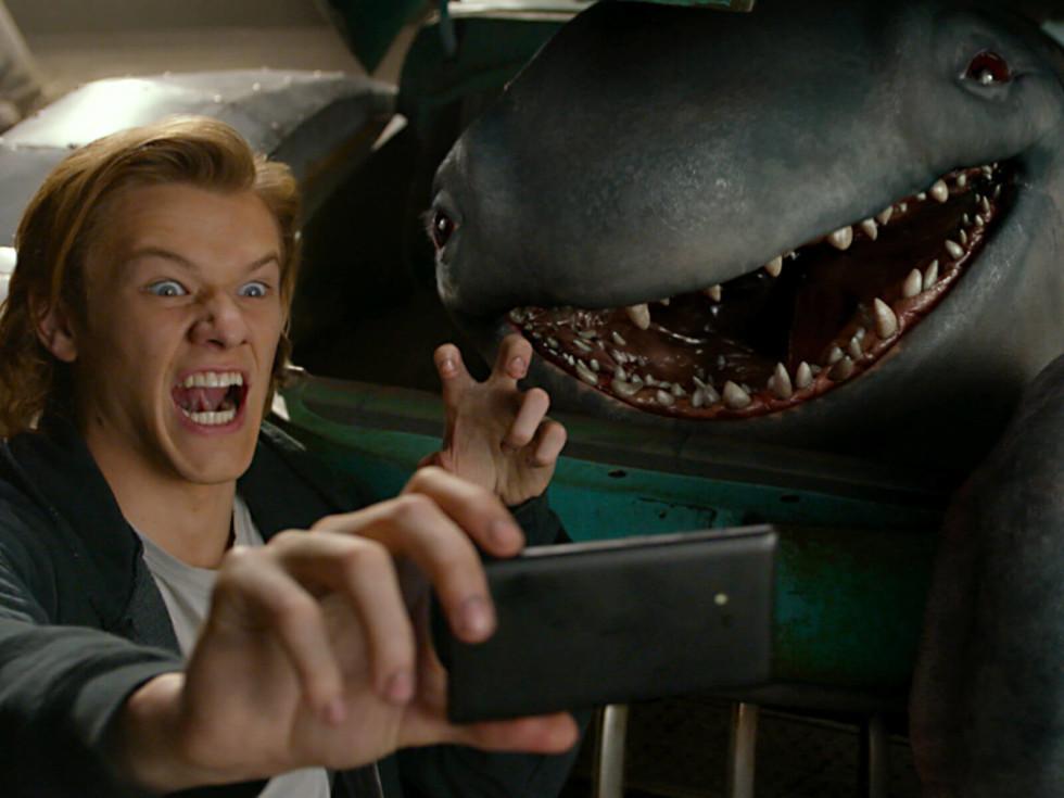 Lucas Till and Creach in Monster Trucks
